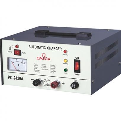 شارژر-باتری-۱۲-و-۲۴-ولت-امگا