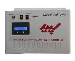 ترانس تقویت اتوماتیک الکتروسپید با قدرت 6000 ولت آمپر