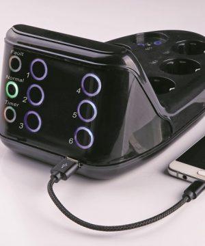 محافظ لمسی صوتی تصویری با شارژر USB