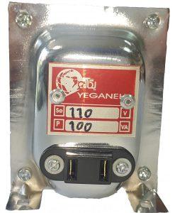 ترانسفورماتور تبدیل 110 ولت با توان 100 وات-یگانه