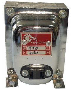 ترانسفورماتور تبدیل 110 ولت با توان 200 وات-یگانه