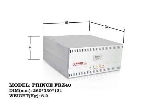 استابلایزر هوشمند یخچال و فریزر PRINCE FRZ40 فاراتل