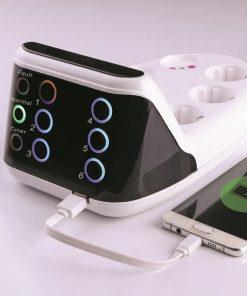 محافظ لمسی صوتی تصویری با شارژر USB - زریران