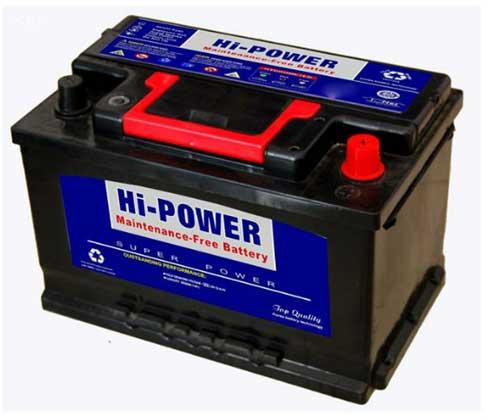 باتری های یو پی اس، یک نوع باتری خودرو