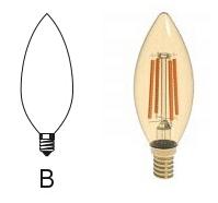 لامپ های سری B
