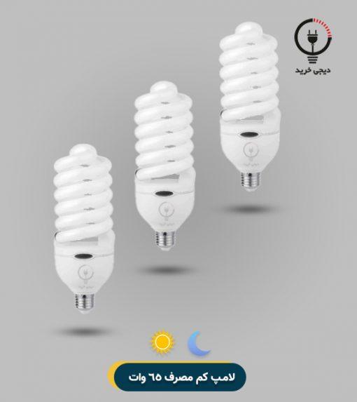 لامپ کم مصرف 65 وات افق
